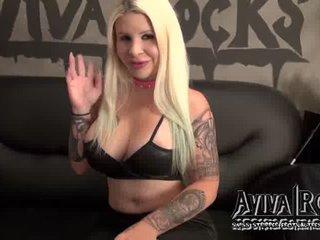 Preview 2: AvivaRocks *Exklusive* Plastic Bitch wartet auf dich! Sexy Girl lässt Dich alles vergessen!